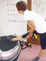 柔軟性のアップ腰の治療
